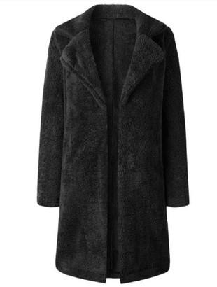 Goodnight Macaroon 'Noelle' Double Collar Fleece Coat (3 Colors)