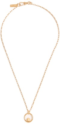 ISABEL MARANT True Circle necklace $155 thestylecure.com
