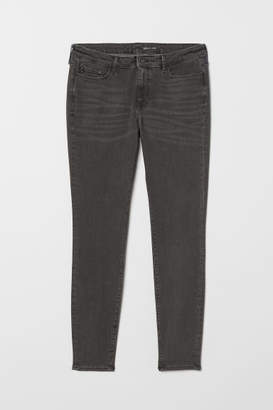 H&M H&M+ Shaping Skinny Jeans - Gray