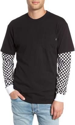Vans Checker Sleeve T-Shirt