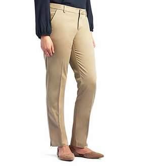 Lee Petite Linea Straight-Leg Ankle Pants