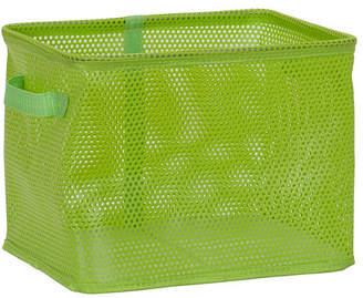 Household Essentials Eva Mesh Medium Storage Basket Tote, Green