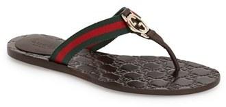 Women's Gucci 'Gg' Logo Sandal
