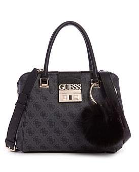 GUESS Logo Luxe Sml Society Satchel