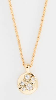 Gorjana Colette Circle Charm Necklace