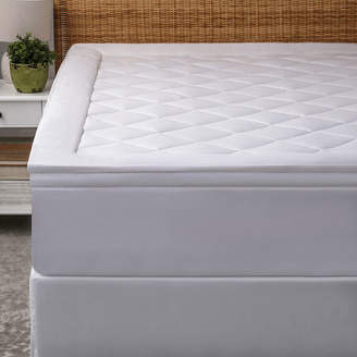 ALLIED HOME Allied Home Luxe Diamond Quilted Mattress Pad