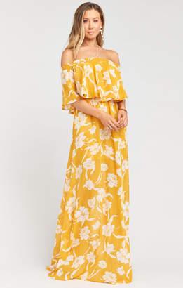 62180809793966 Show Me Your Mumu Hacienda Maxi Dress ~ Bloom Gold