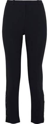 Altuzarra Tristan Cropped Crepe Slim-leg Pants