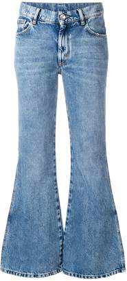 Maison Margiela cropped flared jeans