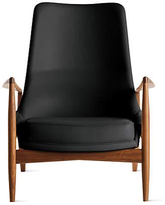 Design Within Reach Brdr. Petersens Polstermbelfabrik Seal Chair, High Back, Black at DWR