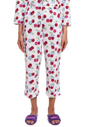 Ok Cherry Print Pajama Set