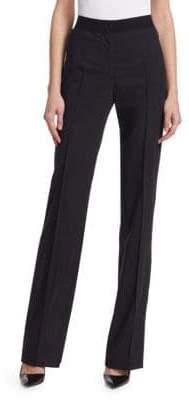 Akris Flecked Wool Pants