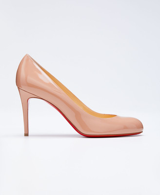 e04493df3c Christian Louboutin Simple Patent 85mm Red Sole Pump