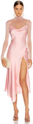Jonathan Simkhai Cowl Neck Slip Dress in Cherry Blossom | FWRD