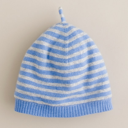 Girls' caterpillar-stripe hat