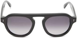 Illesteva Bergen II Gradient Aviator Sunglasses