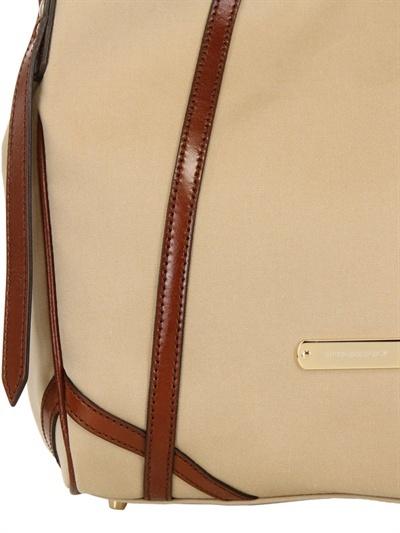 Burberry Small Canterbury Tech Cotton Bag