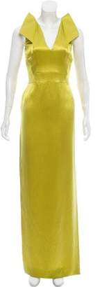 Antonio Berardi Silk Evening Dress