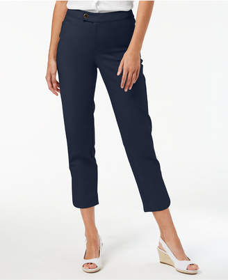 Charter Club Petite Slim-Leg Ankle Pants, Created for Macy's