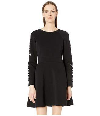 Kate Spade Athleisure Logo Knit Dress