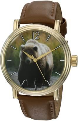 EWatchFactory Men's 'Animal Planet' Quartz Metal Sport Watch, Color: (Model: WDC000033)