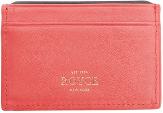 Royce Leather Royce New York RFID Executive Credit Card Case