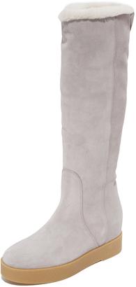 Salvatore Ferragamo Falco Boots $625 thestylecure.com