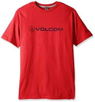 Volcom Young Men's Men's Lino Euro Short Sleeve T-Shirt Shirt