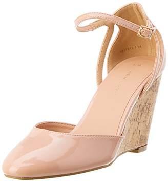 New Look Women's Uprightie 2 Ankle Strap Heels