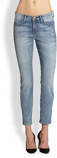 Current/Elliott The Stiletto Cropped Cigarette Jeans