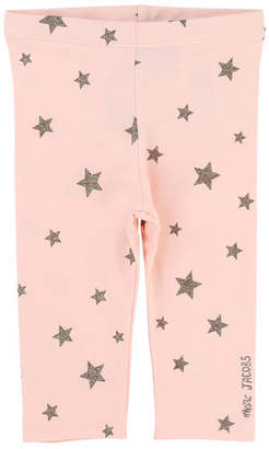 Little Marc Jacobs Allover Star-Print Stretch Leggings, Size 2-3