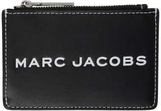 Marc Jacobs Black Logo Tag Multi Card Holder