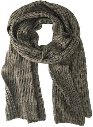Slate + Salt Hand-Knit Cashmere Scarf