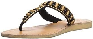Cocobelle Women's Bamboo Beaded Sandal