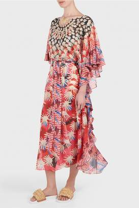 Temperley London Cote Cacti Kaftan