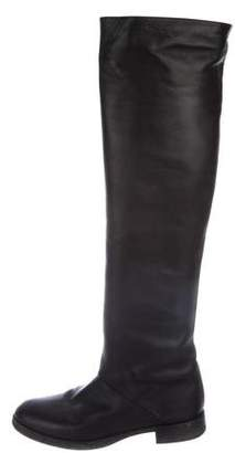 Pierre Hardy Leather Over-The-Knee Boots