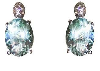 H.Stern 18K White Gold Aquamarine & Diamond Earrings
