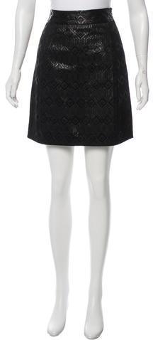 Tory BurchTory Burch Brocade Mini Skirt