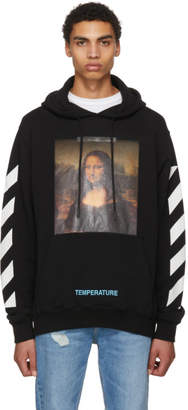Off-White Black Diagonal Monalisa Hoodie