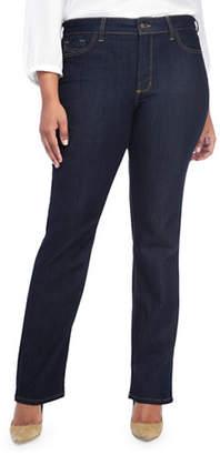 NYDJ Plus Marilyn Straight Jeans