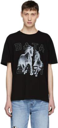 Baja East Black Freedom Logo T-Shirt