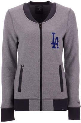 New Era Women's Los Angeles Dodgers French Terry Full-Zip Jacket