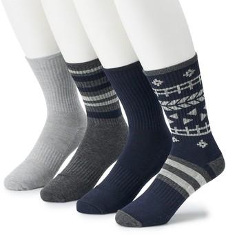 Børn Men's 4-pack Performance Boot Socks