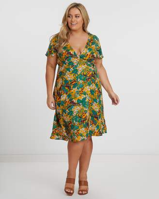 ICONIC EXCLUSIVE - Sandiago Wrap Dress