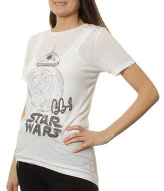 Star Wars Women's BB-8 Hi-Lo Graphic T-Shirt