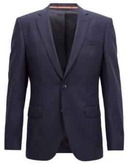 BOSS Hugo Slim-fit blazer in virgin wool 36R Dark Blue