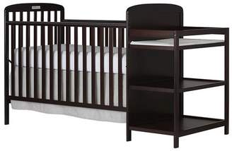 Dream On Me Anna 4 in 1 Convertible Crib and Changing Table Combo