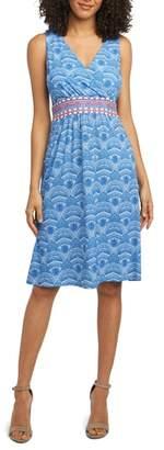 Foxcroft Rosine Print A-Line Dress