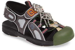 Gucci Tinsel Sport Sandal