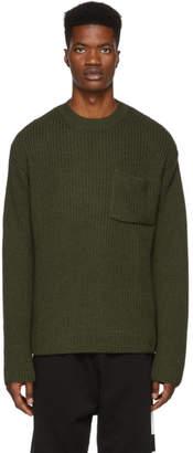 Etudes Green Bunker Crewneck Sweater